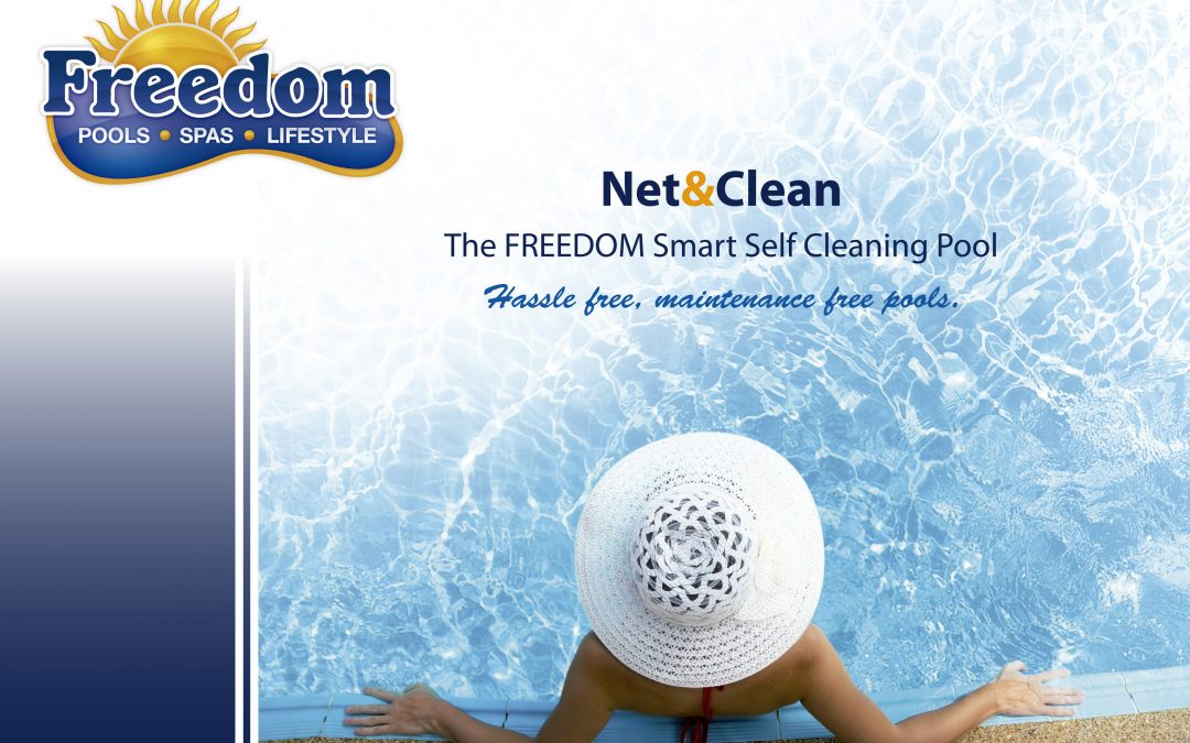 Self-cleaning of swimming pools