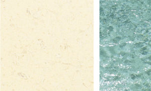 The difficult decision about the colour of your swimming pool