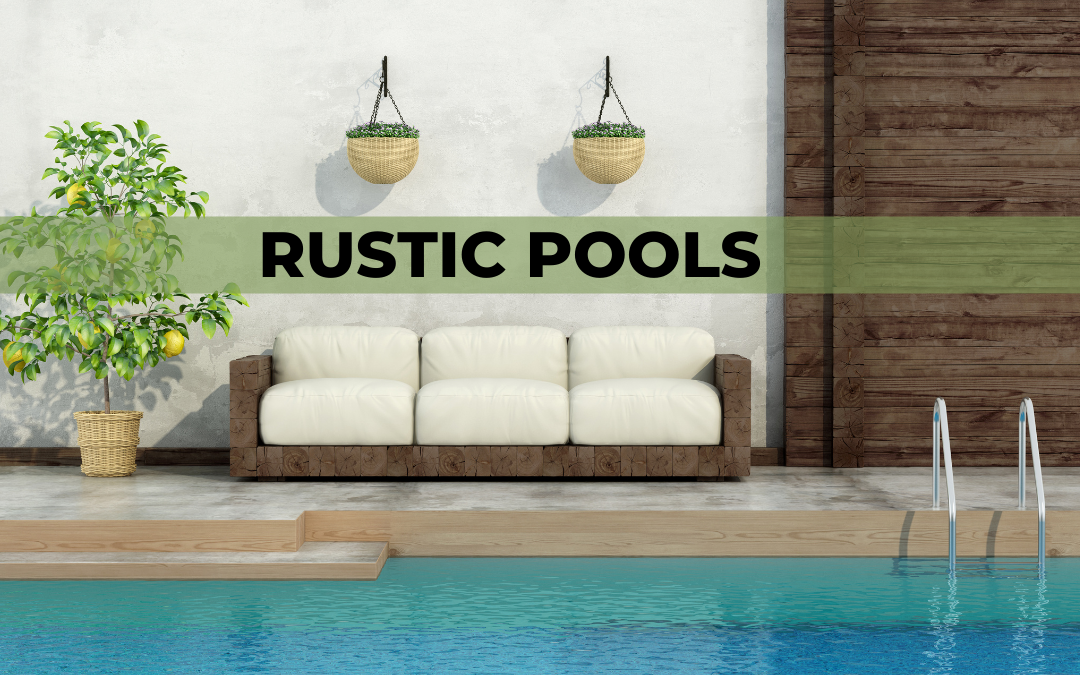 How to create rustic pools
